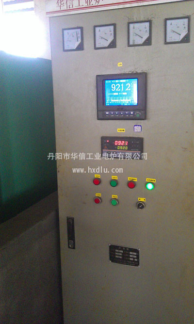 45kw箱式电阻炉控制柜接线图